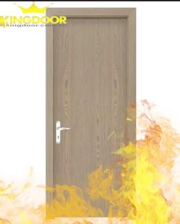 Cửa chống cháy không mối mọt do nguyên liệu sản xuất đã được sử lý hóa chất.