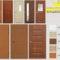 cửa nhựa giả gỗ ABS – Mẫu cửa thông phòng hiện đại
